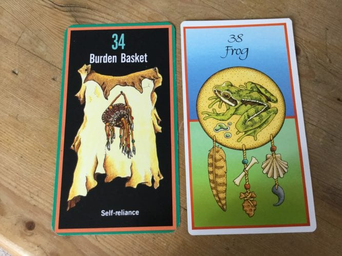 Frogs and Burden Baskets!